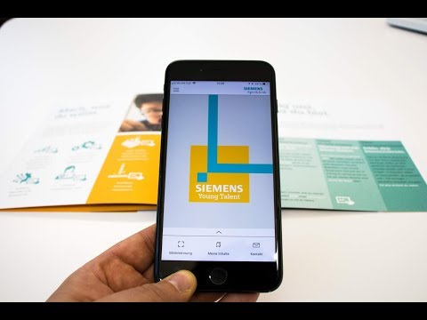Siemens Young Talent Augmented Reality App