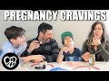 AMERICAN KIDS TRY PREGNANCY CRAVINGS FOR THE FIRST TIME | FAMILY WEIRD FOOD COMBINATIONS TASTE TEST
