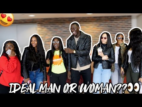 Describe Your Ideal MAN/WOMAN  | Buffalo State College | Public Interview