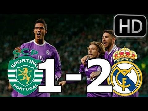 Download Sporting vs Real Madrid 1-2 All Goals & Highlights