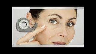 Cinta adhesiva para disimular las arrugas en el rostro