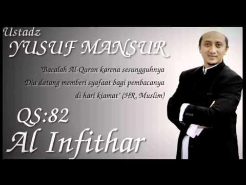 Ust Yusuf Mansur Qs 82 Al Infithar