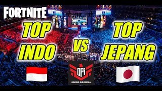 FORTNITE TOP INDONESIA VS TOP JEPANG | GIVEAWAY V BUCKS | FORTNITE INDONESIA