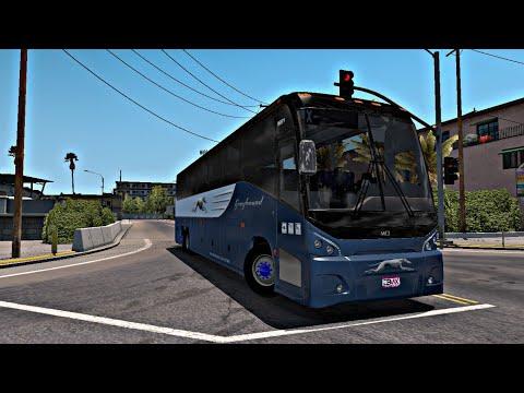 MCI Greyhound Bus/ATS|American Truck Simulator
