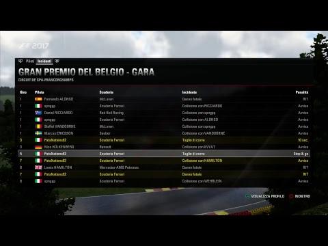 F1 2017 BELGIUM - Weekend in Spa-Francorchamps [w/ spngpp]