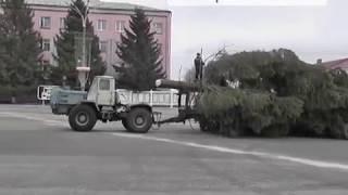 В Новозыбкове установили новогоднюю ель