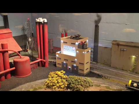 O scale Menards American & Light Power Plant