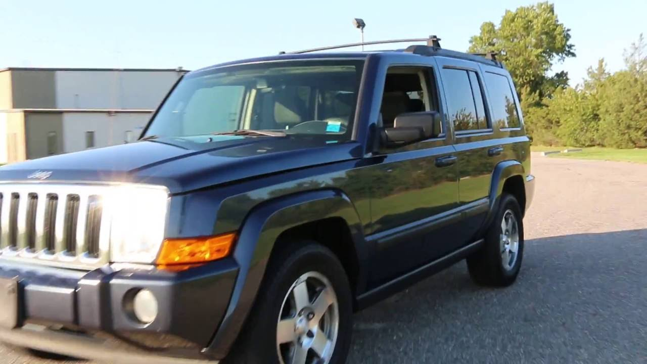 2009 Jeep Commander Sport For Sale~3rd Row Seat~CD~1 Owner~Moon Roof   $7495