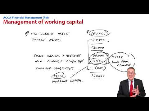 Management of Working Capital - Introduction - ACCA Financial Management (FM)