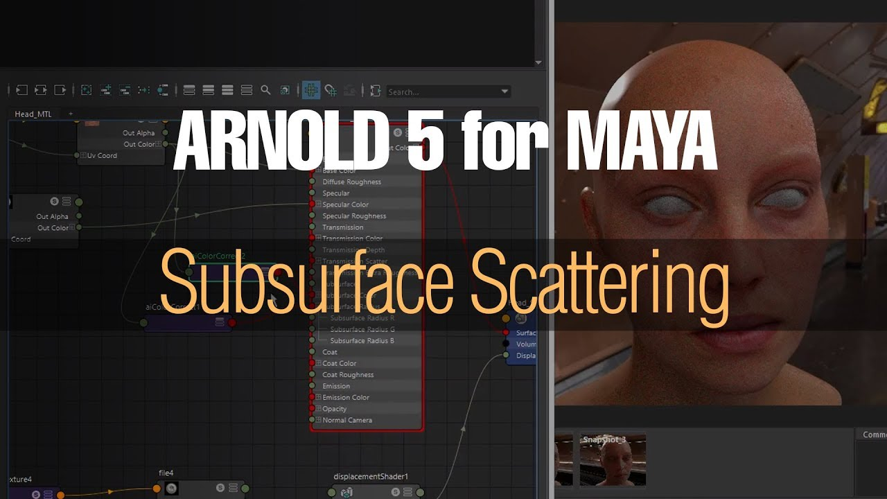 Subsurface Scattering in Arnold 5