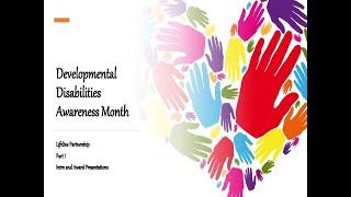 Developmental Disabilities Awareness Month, Part 1 Awards   HD 720p