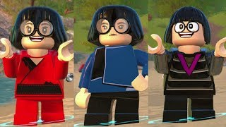 All Edna Mode Costumes in LEGO The Incredibles