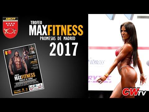 Trofeo Max Fitness Promesas de Madrid de Fisicoculturismo y Fitness AMCFF 2017
