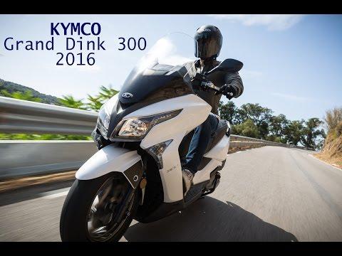 Prueba Kymco Grand Dink 300 2016 смотреть видео онлайн