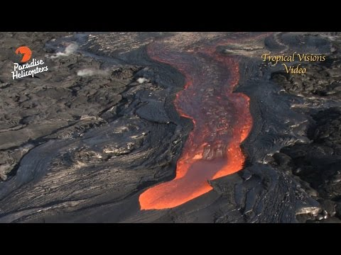Big Lava Breakout On Pu'u O'o (Aug. 27)