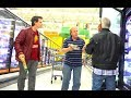 PUTTING ITEMS IN PEOPLE'S SHOPPING CARTS BEHIND THEIR BACKS! - Funny Prank