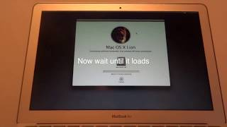 How to Reset with out the Recovery Disc Macbook air 2011/12/13/14/15/16