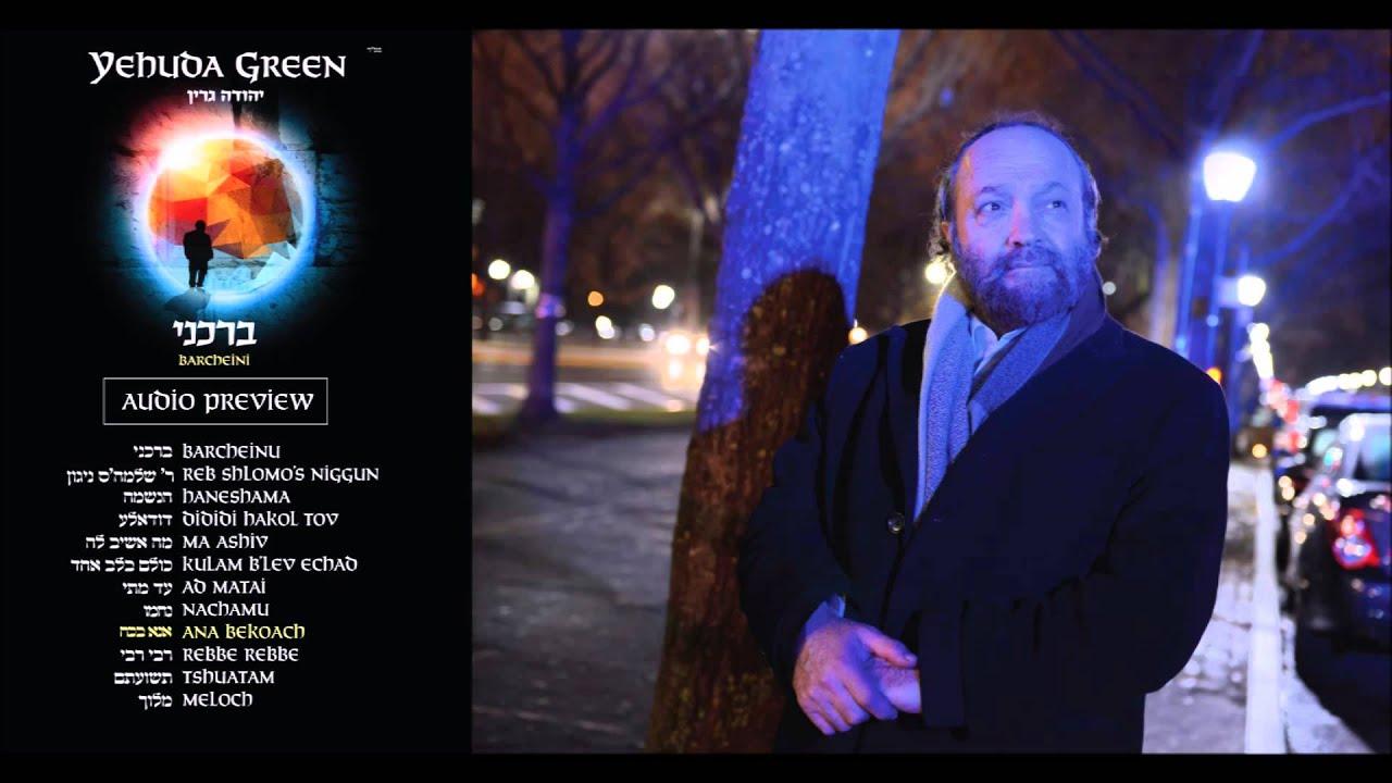 Yehuda Green - Barcheini Audio Preview