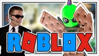 DABBING in ROBLOX | AGENTS