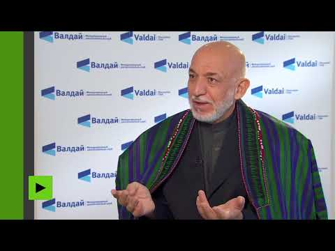 Hamid Karzai : «Les Américains ont été accueillis en Afghanistan à bras ouverts»