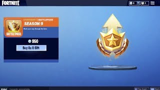 *NEW* FREE SEASON 9 BATTLE PASS GIFT in Fortnite! GIFTING SEASON 9 BATTLE PASS (FREE Battle Pass)
