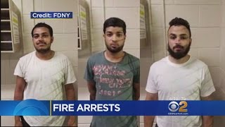 3 Men Arrested In Fire That Ripped Through 6 Bronx Homes