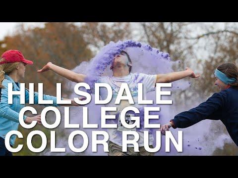 Hillsdale College 2014 Color Run