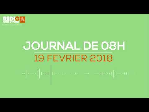 Le journal de 8h du 19 février 2018 - Radio Côte d'Ivoire
