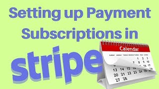 Setting up a Subscription in Stripe (Recurring Payments)