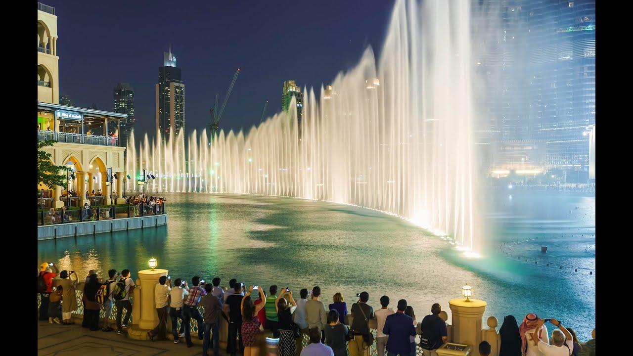 The Dubai Fountain Show  Arabic Music Gopro Hd - Youtube-3918