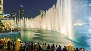 The Dubai Fountain Show ( Arabic Music) GoPro HD