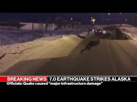 Alaska Earthquake: 7.0 magnitude quake. tsunami warning in Anchorage | ABC News