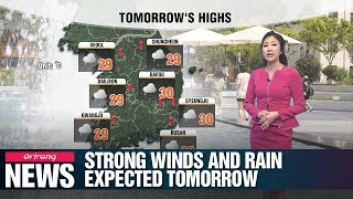 Strong winds and rain expected tomorrow _ 060519
