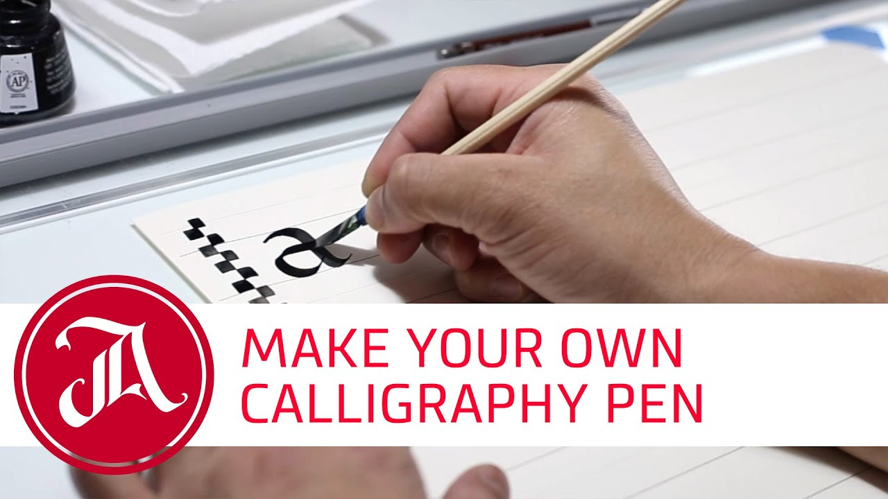 How To Make A Handmade Calligraphy Pen With Everyday