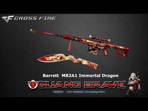 CFVN : Clip Quay Combo Barrett M82A1 Immortal Dragon của Quang Brave