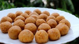 Kheer Naru Recipe | Easy Homemade Kheer Laddo | Reduce Milk Laddo | Village Style Easy Sweet