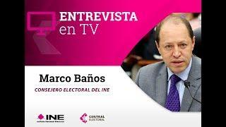 Entrevista de Marco Baños con Aristegui sobre multa a Morena por 197 MDP