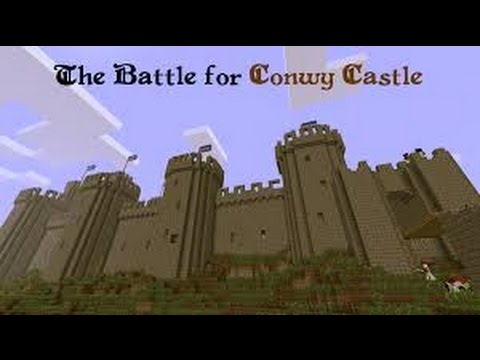 minecraft battle for conwy castle #3