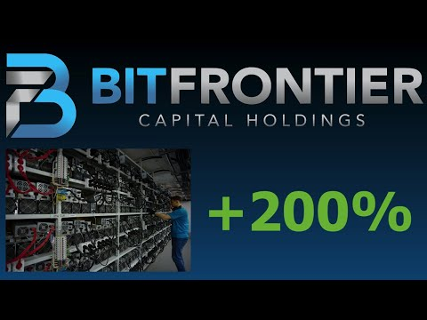 BitFrontier UP 200%! POTENTIAL 10X! BEST Penny Stock to Buy Now – Bitcoin Miner Blockchain BFCH