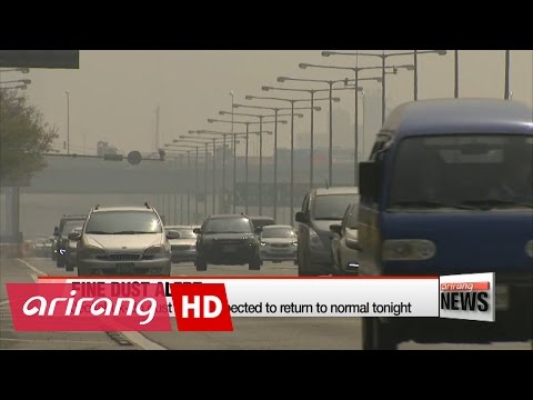 Fine dust alert in effect for parts of Gyeonggi-do, Jeollabuk-do Provinces
