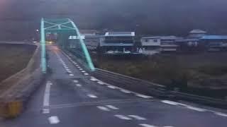 《車窓》土讃線 特急南風15号 大歩危~高知