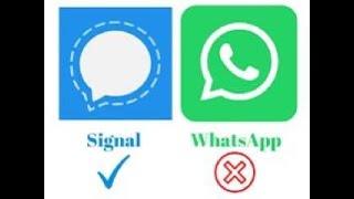كيفية تحميل بديل الواتساب  تطبيق signal ولماذا
