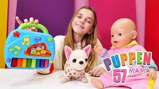 Puppen Mama. Eine Überraschung für Rose. Video mit Baby Born