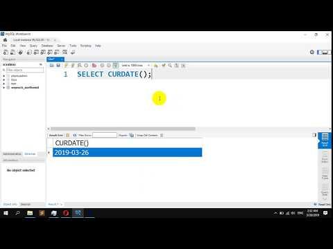 How To Display Current Date In MySQL - CURDATE