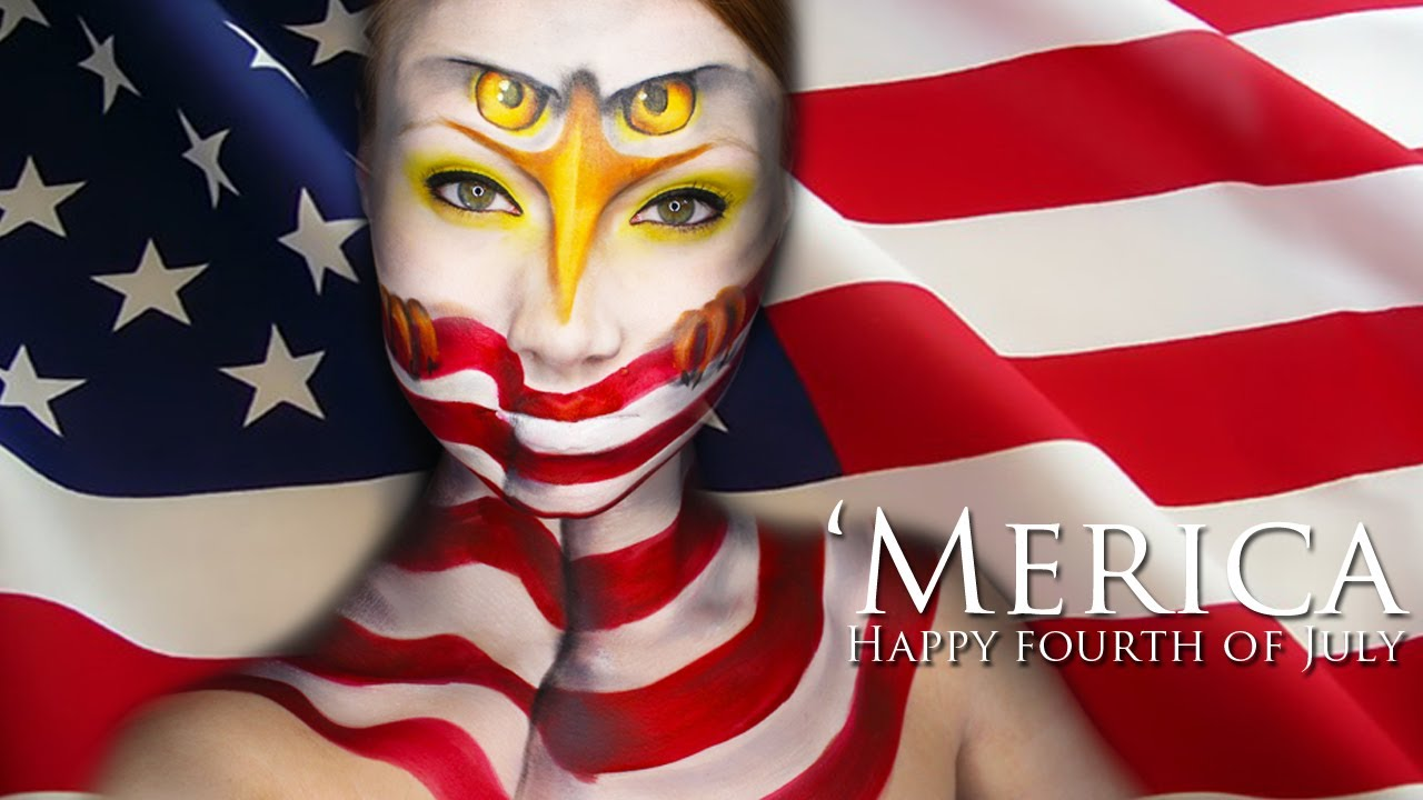 Fourth of july makeup tutorial youtube fourth of july makeup tutorial baditri Image collections