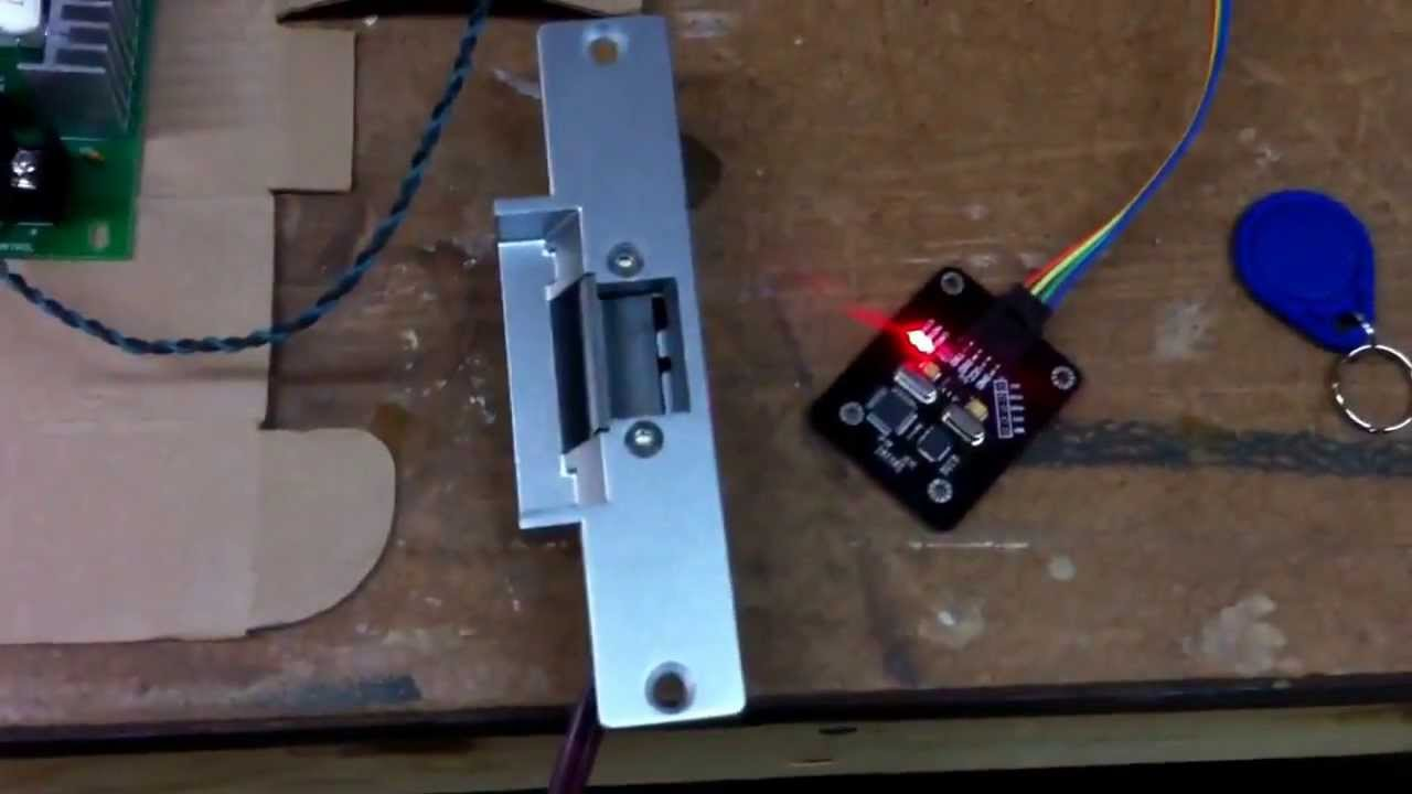 Arduino Rfid Door Strike Youtube