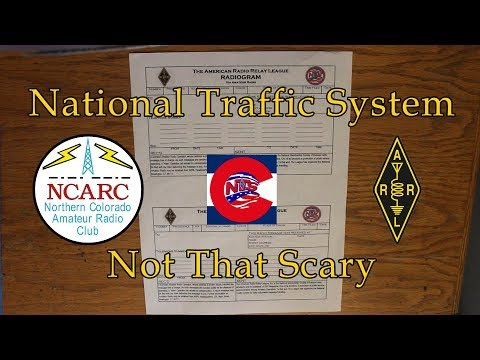 How to Compose a Radiogram - National Traffic System - Not That Scary - Part 1