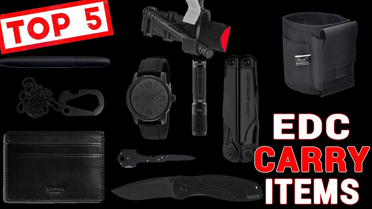 Top 5 Every Day Carry (EDC) Essentials Besides A Firearm