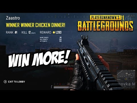 PUBG Xbox Tips! How To Win More Games!! (Full Game Talk Through)