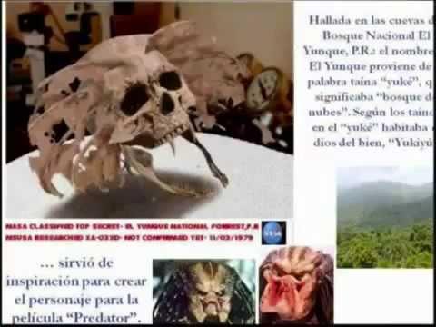 Los secretos de la nasa y monstruos reales 2016 - YouTube